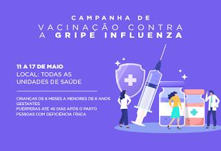 Campanha de vacinação contra a gripe continua em Cajati