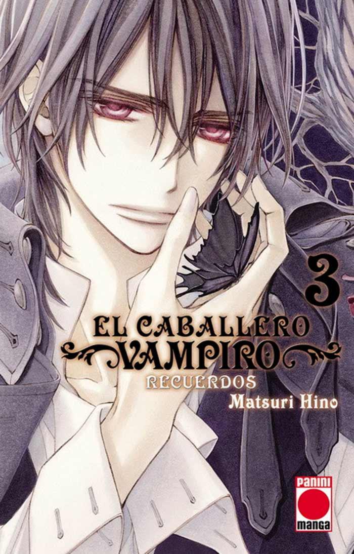El caballero vampiro: Recuerdos #3 (Panini Comics España: manga shojo)