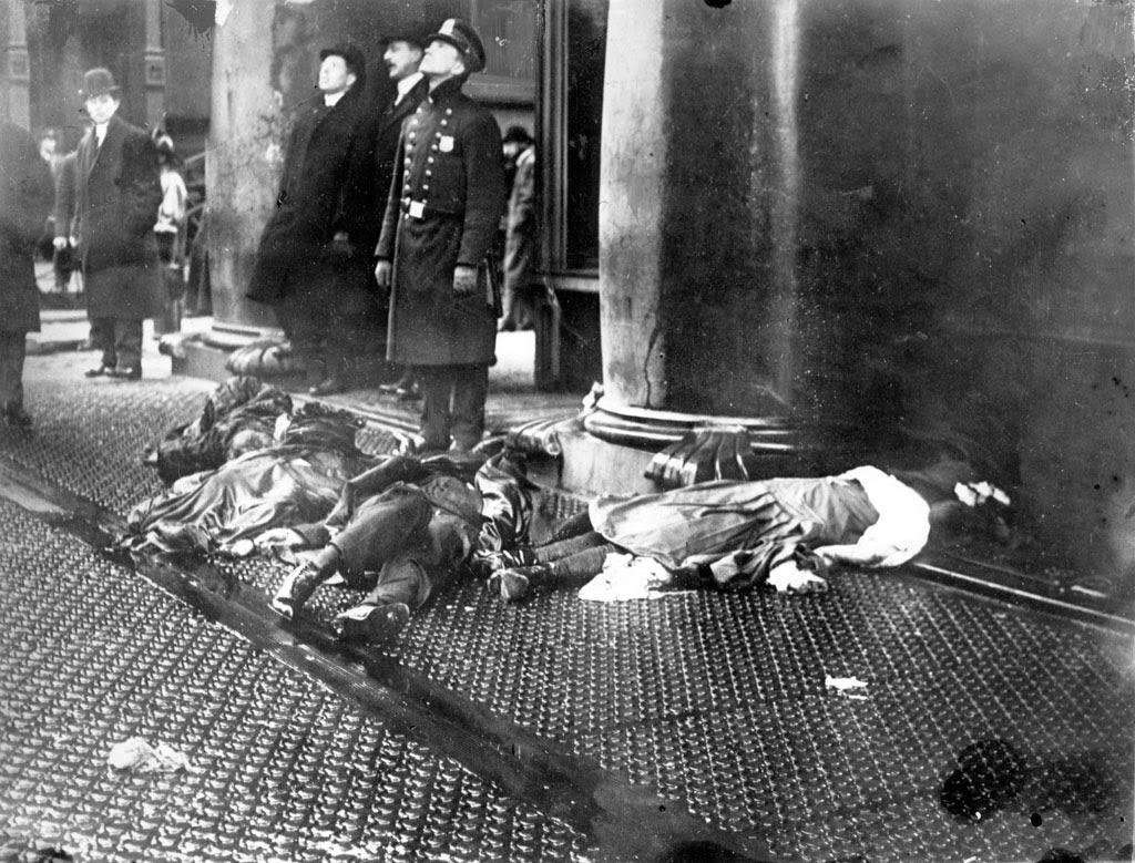 Bullwork of Democracy™: Newtown: Meaningless death of 20 ... Triangle Shirtwaist Fire Nyu