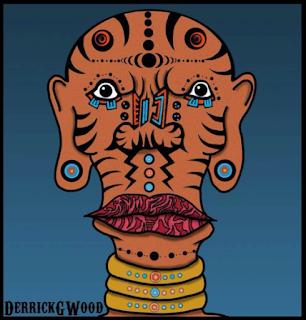 ink tattoo tatt face tattoo african tribal art
