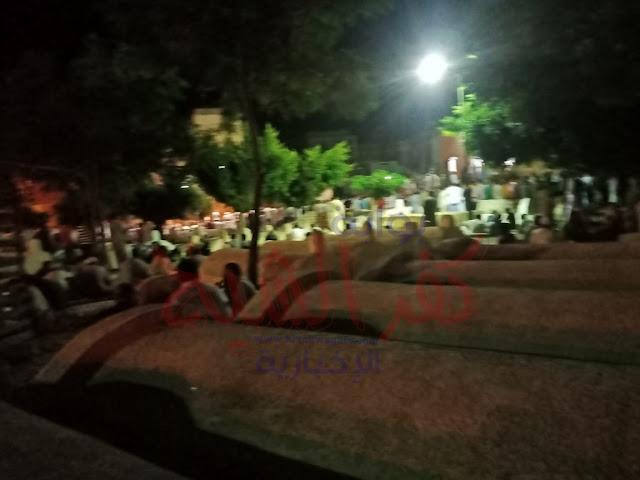 تشييع الجنازة من مقابر سوق الثلاثاء