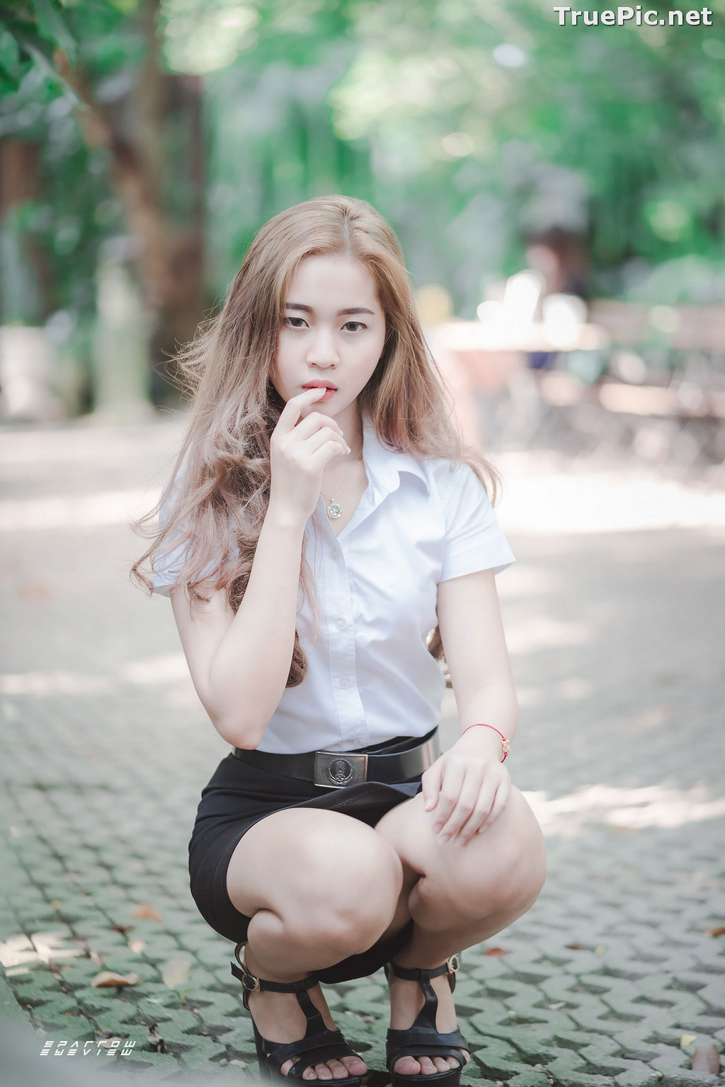 Image Thailand Model - นิภาภรณ์ เลิศนิติวัฒนา - Student Uniform - TruePic.net - Picture-2