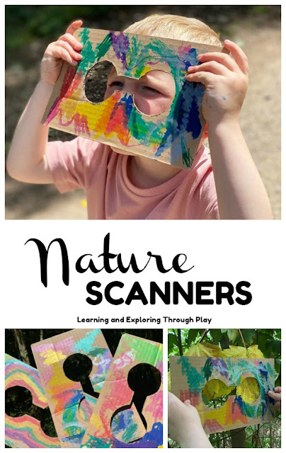 Nature Binocular Scanners - Forest School Ideas