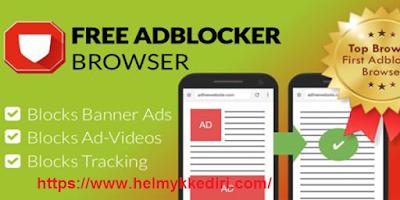 Aplikasi untuk memblokir iklan