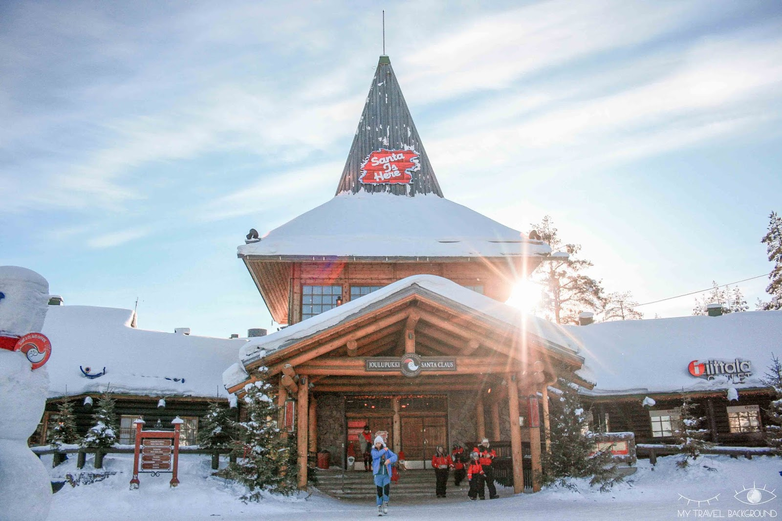 My Travel Background : Que faire à Rovaniemi en Laponie ? Pere noel