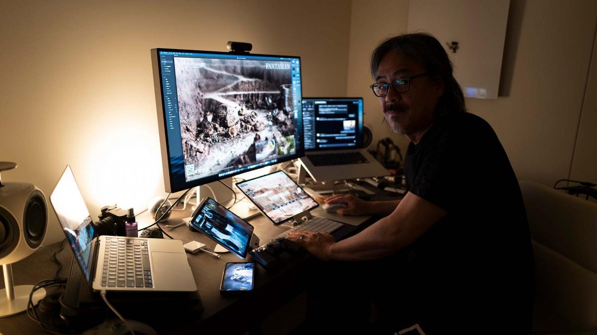 Hironobu Sakaguchi, creator of Final Fantasy, anticipates that Fantasian could also be his last game