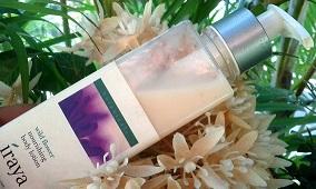 iraya wild flower nourishing body lotion review