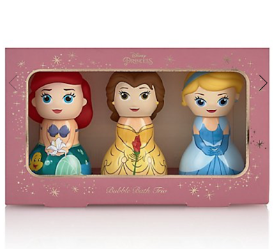 marks and spencer disney princess bubble bath trio