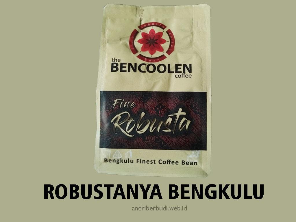 Bencoolen Coffee Robustanya Bengkulu