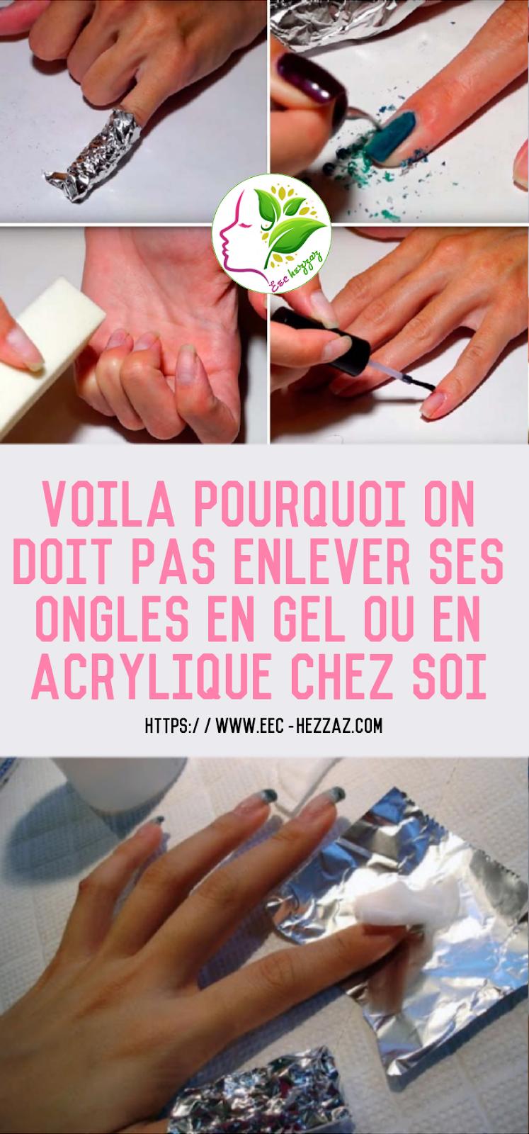 Voila pourquoi on doit pas enlever ses ongles en gel ou en acrylique chez soi