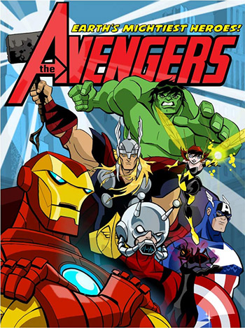 The Avengers Earths Mightiest Heroes 2010-2012 Hindi Dubbed S01 Complete BluRay 2GB poster