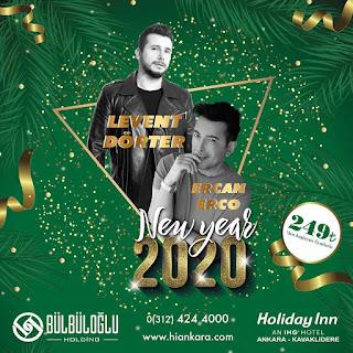Holiday Inn Kavaklıdere Ankara Yılbaşı Programı 2020 Menüsü