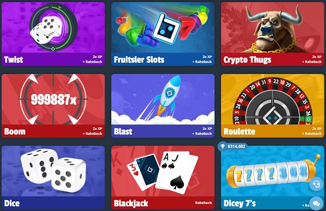 Bitsler Crypto games