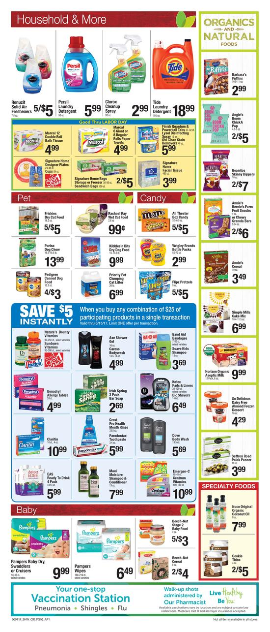 shaws circular june 9 15 2017 weekly circular ads
