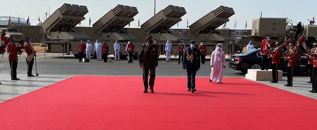 Επίσημη Επίσκεψη Αρχηγού της Εθνικής Φρουράς στα Ηνωμένα Αραβικά Εμιράτα (ΦΩΤΟ)