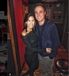 Jillian Wisniewski Posing With Her Boyfriend Justin Thomas