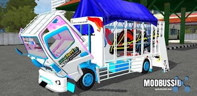 Mod Truck Casabalanca Full Anim dan strobo