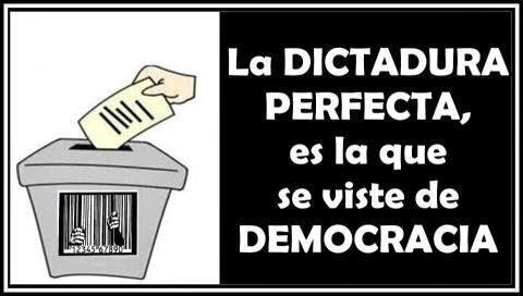 LA FALSA DEMOCRACIA