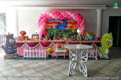 Decoração tema Galinha Pintadinha - aniversário infantil