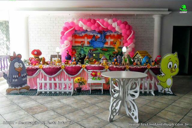 Decoração aniversário infantil Galinha Pintadinha - Tradicional Super Luxo