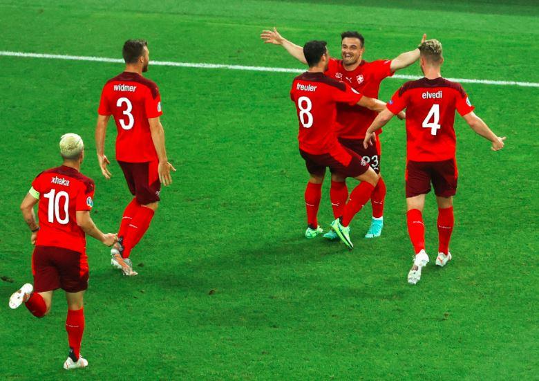 Switzerland 3-1 Turkey