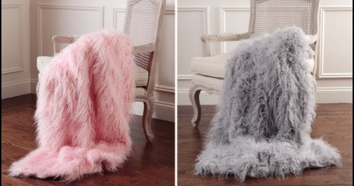 Decorating Theme Bedrooms Maries Manor Faux Fur Home Decor Fuzzy