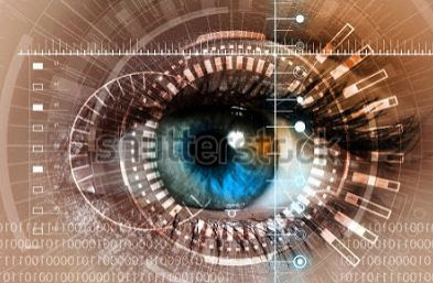 Lo mas popular y vistoso es scannear el iris o la retina de la persona, pero la huella dactilar es mucho mas practica