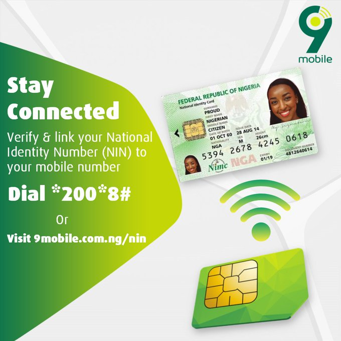 How To Link 9mobile Phone Number to NIN