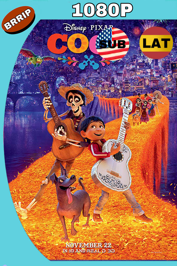 Coco (2017) BDrip 1080p Trial Latino