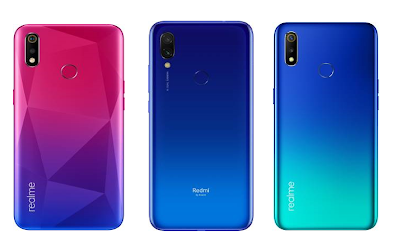 Realme 3i vs Redmi 7 vs Realme 3