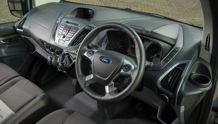 Ford transit club uk ford transit gets new auto option for Ford transit custom interior
