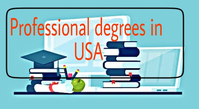 Professional degrees in USA