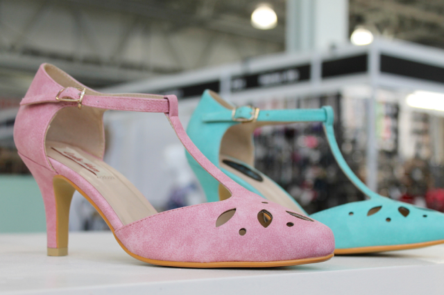 Lulu Hun shoes on the Collectif stand at London Edge 2016