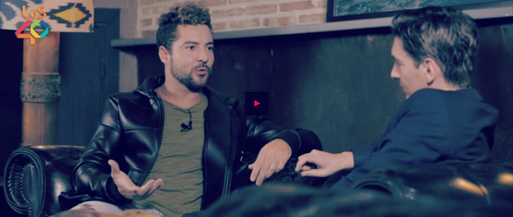 David Bisbal, #realBisbal, Xavi Martinez, Lo+40, entrevista, video