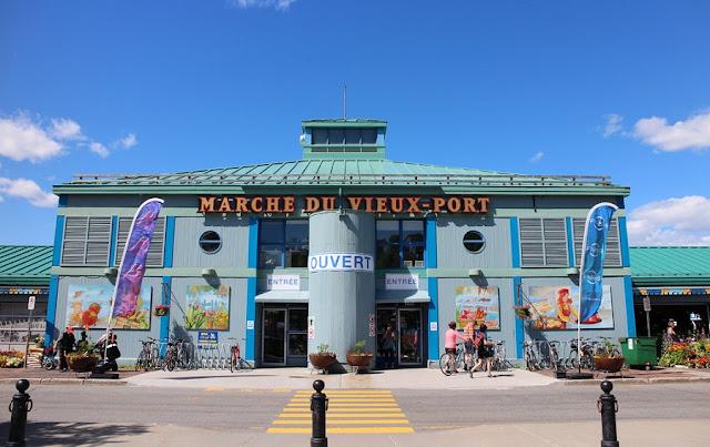 Marché du Vieux-Port em Quebec