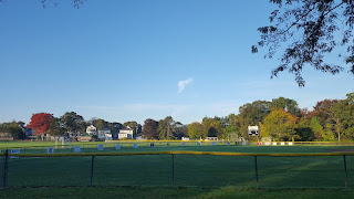 early morning view of Fletcher Field
