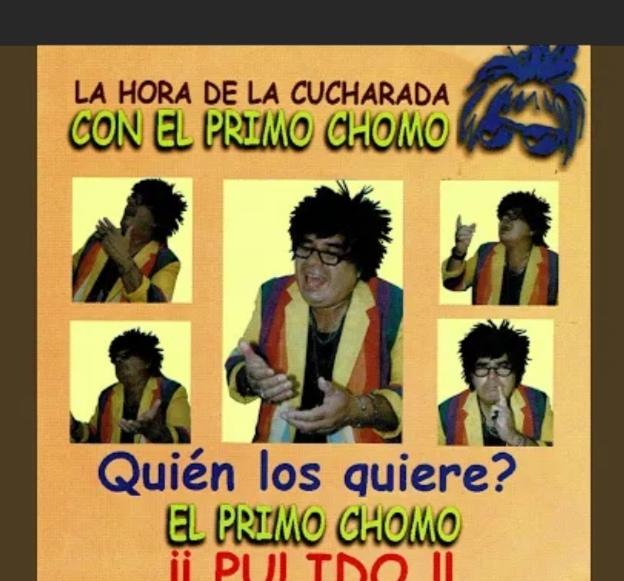 """Roberto Reyes, """"El Primo Chomo"""",  ha muerto . Hasta pronto amigo y compañero"""