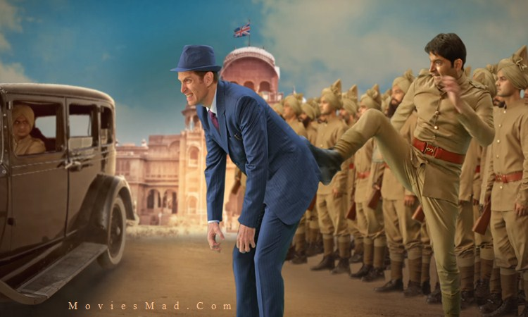 Kapil Sharma Kicked a Foreigner in Poster