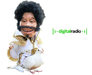 Digital Radio UK - D Love Marketing Mascot