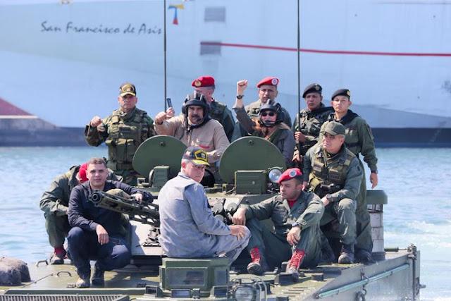 """Inician los Ejercicios Militares Fronterizos por la """"Soberanía y Paz 2019"""""""
