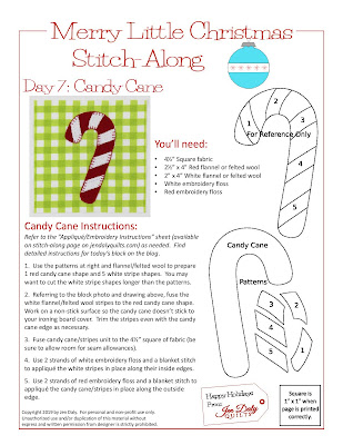 Day 7 - Candy Cane