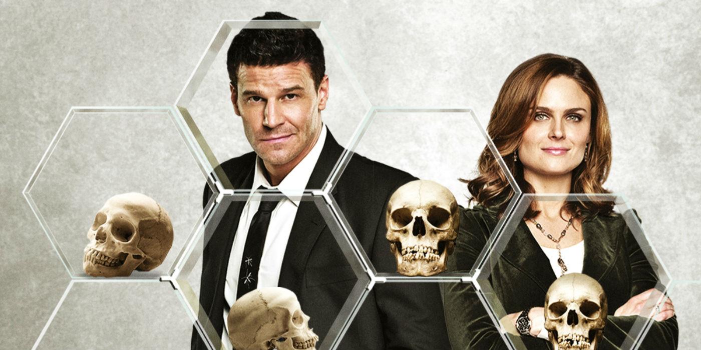 Póster promocional de Booth y Brennan.
