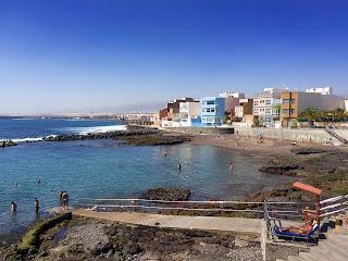 Naturlige havbassenger på Gran Canaria