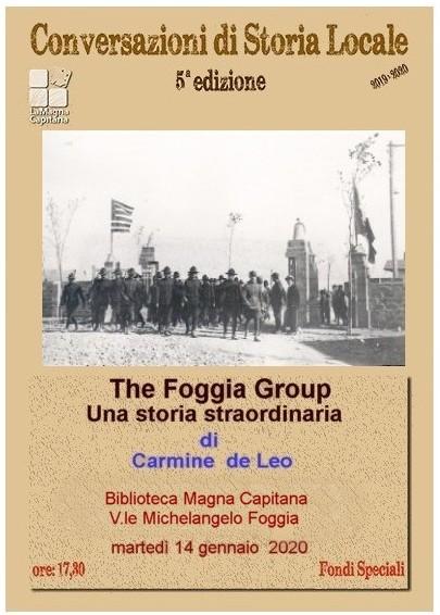 The Foggia Group - Una storia straordinaria, presentata da Gli Amici del Museo Civico di Foggia
