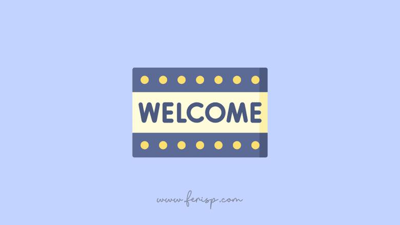 Cara Memasang Welcome Box di Blog