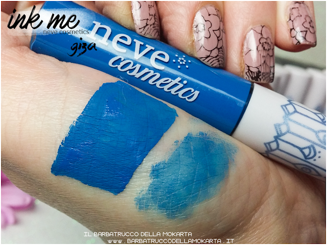 GIZA  SWATCHES  INKME EYELINER NEVE COSMETICS REVIEW RECENSIONE