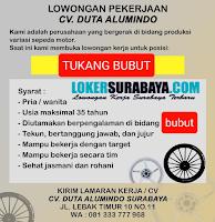 Info Lowongan Kerja Surabaya Terbaru di CV Duta Alumindo Juni 2020