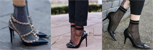 Cómo usar zapatillas con calcetas y lucir sofisticada