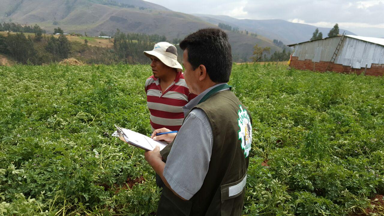 Beneficiaron a municipio de Tapacari de Cochabamba y Arampampa de Potosí