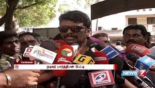 Actor Parthiban speaks after casting his vote   News7 Tamil
